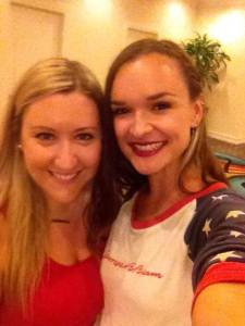 Hannah Bethel and Patrice Whiffen